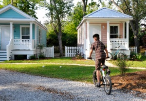 Mississippi Cottages in Cottage Square (Harry Connolly/Enterprise)