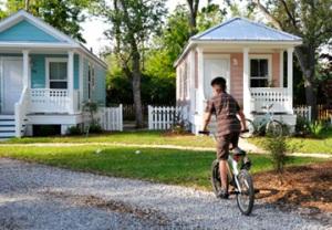 Mississippi Cottages in Cottage Square (Harry Connolly/Enterprise)