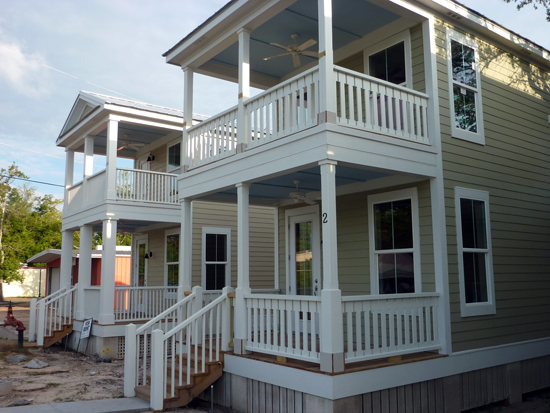 Six years later katrina cottages take hold placemakers for Katrina homes